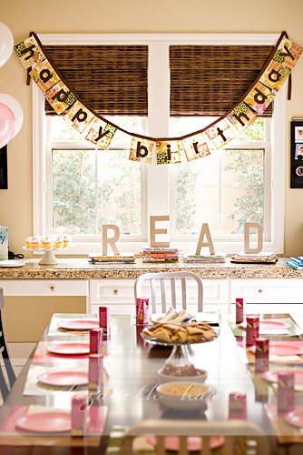 Birthday banner patchwork