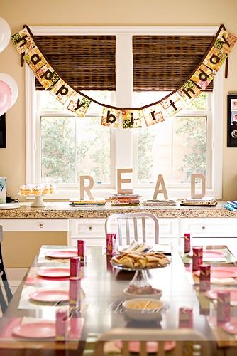 Birthday banner patchwork